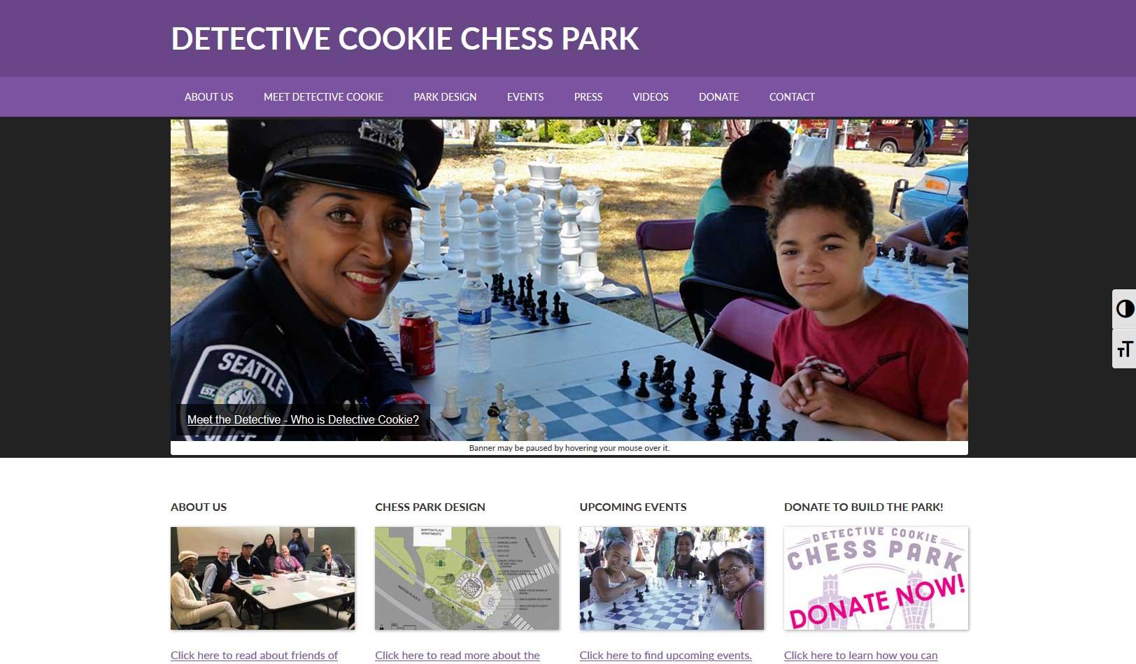 Chess Park Website